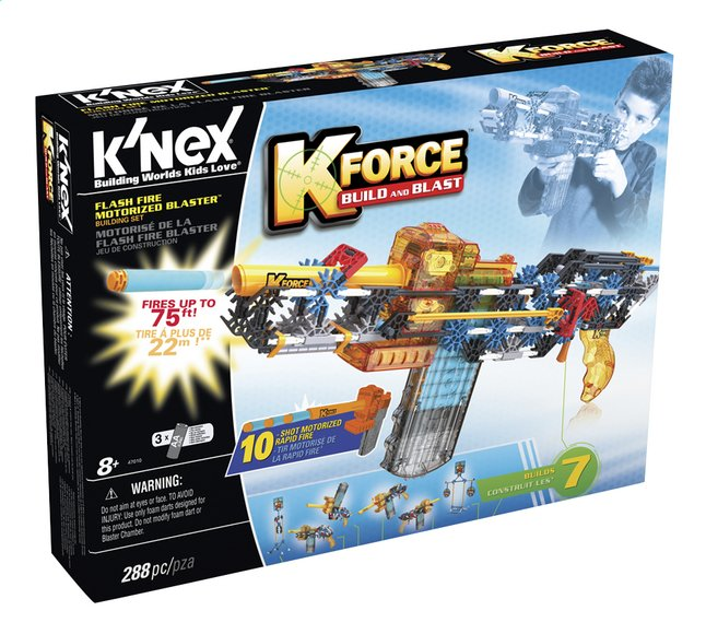 Image pour K'nex K-Force Build and Blast Flash Fire motorisé à partir de DreamLand