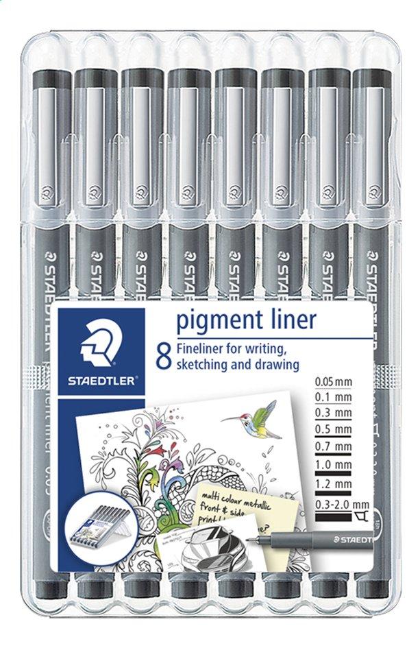 Afbeelding van STAEDTLER Pigment Liner - 8 stuks from DreamLand