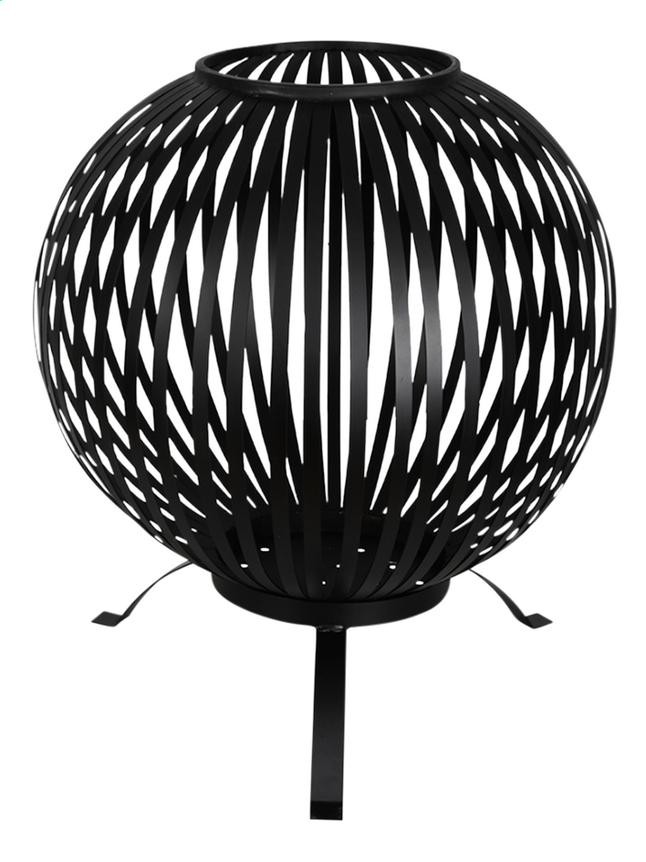 Image pour Esschert brasero Fire ball stripes noir à partir de DreamLand