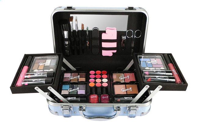 Afbeelding van Make-upkoffer Adorable Fashion met manicureset from DreamLand