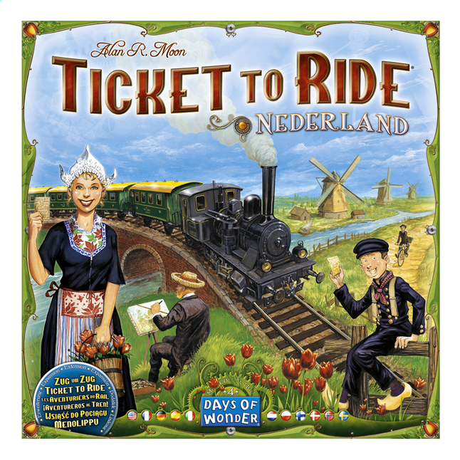 Afbeelding van Ticket to Ride: Nederland from DreamLand