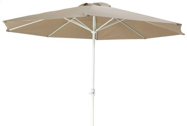 Afbeelding van Aluminium parasol diameter 3,5 m taupe from DreamLand