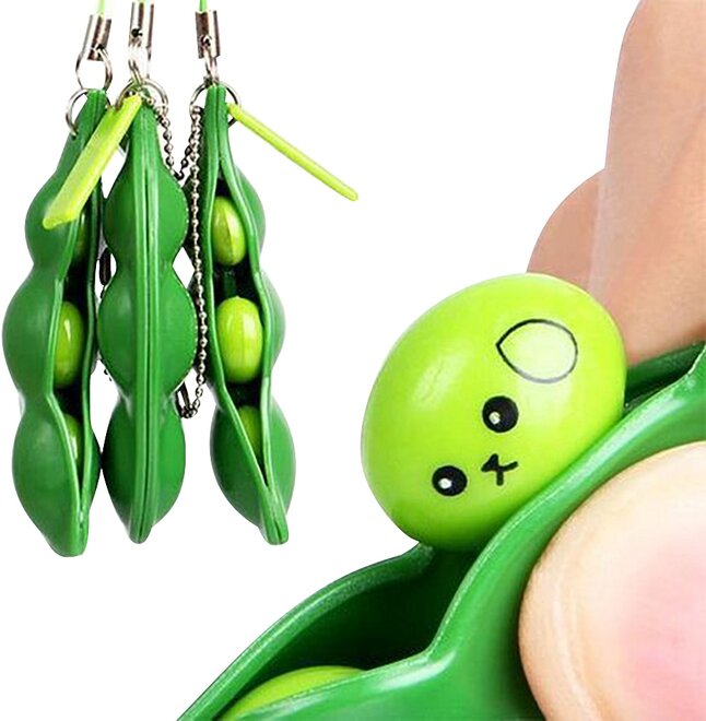 Fidget Pea Bean poppers