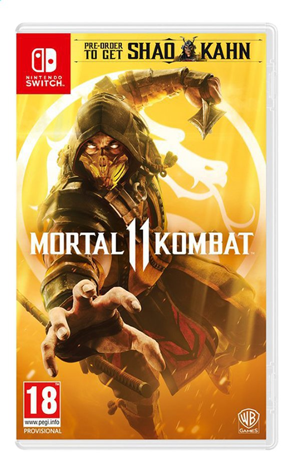 Afbeelding van Nintendo Switch Mortal Kombat 11 ENG/FR from DreamLand