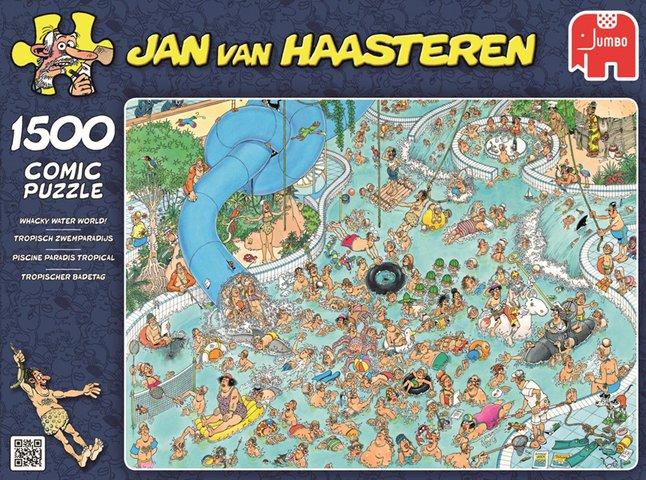 Afbeelding van Jumbo puzzel Jan Van Haasteren Tropisch zwemparadijs from DreamLand