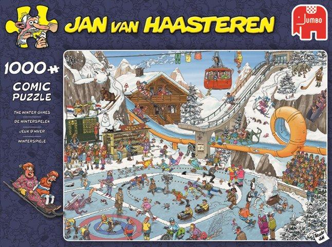 Afbeelding van Jumbo puzzel Jan Van Haasteren De Winterspelen from DreamLand