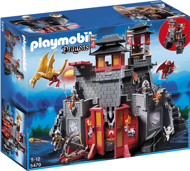 Afbeelding van Playmobil Dragons 5479 Groot drakenkasteel from DreamLand