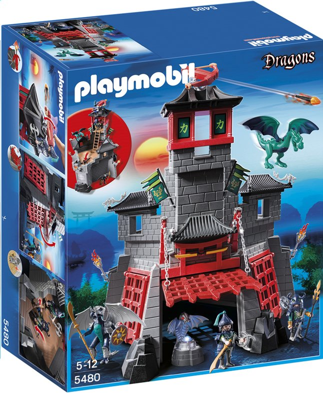 Afbeelding van Playmobil Dragons 5480 Geheime drakenburcht from DreamLand