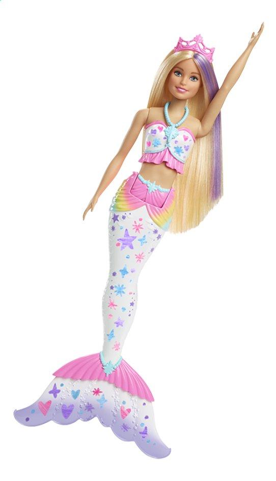 Barbie mannequinpop Dreamtopia Color Magic zeemeermin