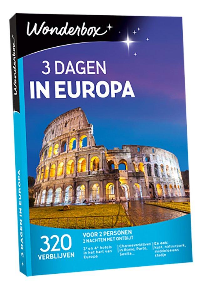 Afbeelding van Wonderbox 3 Dagen Europa from DreamLand