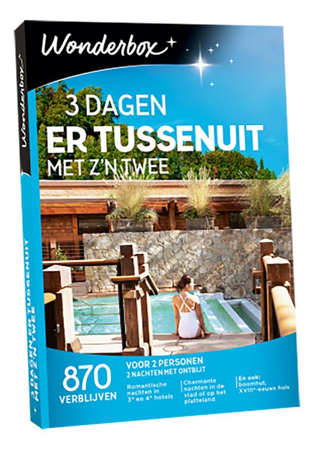 Afbeelding van Wonderbox 3 Dagen Er Tussenuit Met Z'n 2 from DreamLand