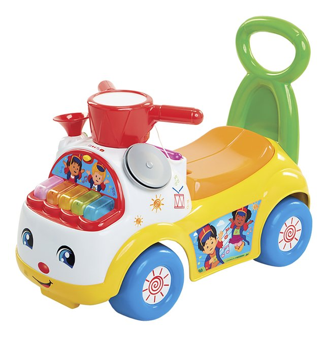Fisher-Price porteur-pousseur Little People Ultimate Music Parade Ride-on