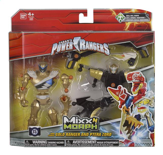 Afbeelding van Set Power Rangers Mixx N Morph Dino Charge Gold Ranger en Ptera Zord from DreamLand
