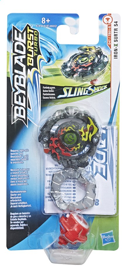 Beyblade draaitol Burst Turbo SlingShock Iron X Surtr S4