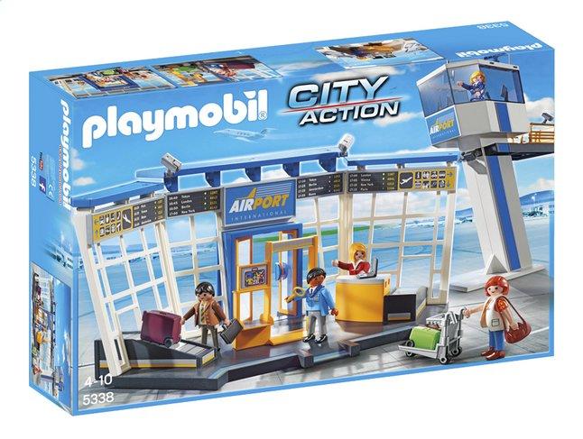Afbeelding van Playmobil City Action 5338 Luchthaven met verkeerstoren from DreamLand