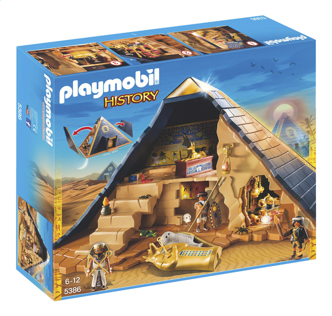 Image pour Playmobil History 5386 Pyramide du pharaon à partir de DreamLand
