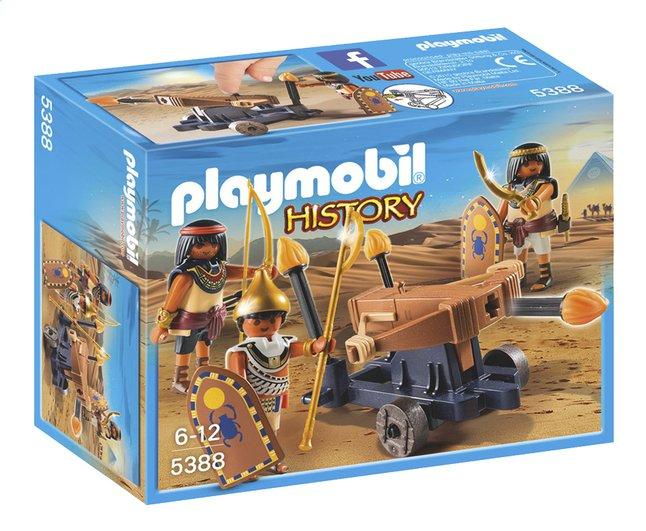 Afbeelding van PLAYMOBIL History 5388 Soldaten van de farao met ballista from DreamLand