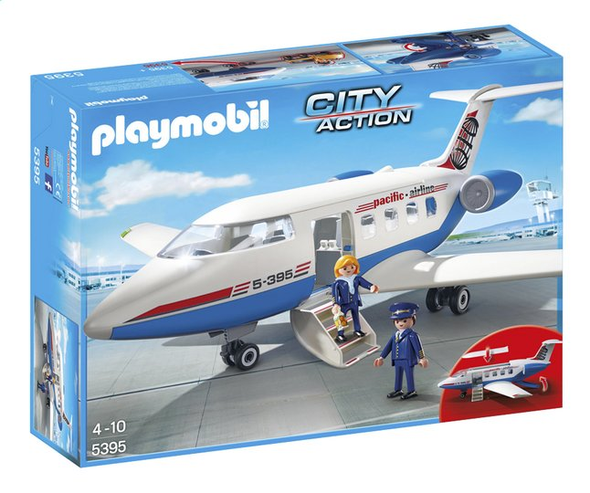 Afbeelding van Playmobil City Action 5395 Chatervliegtuig from DreamLand