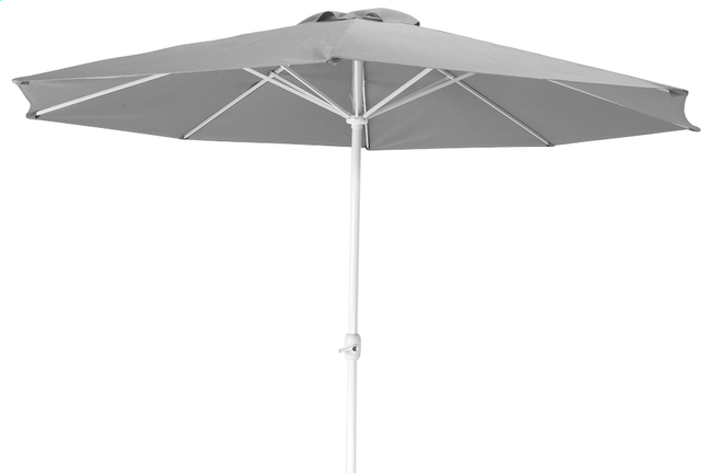 Afbeelding van Aluminium parasol diameter 3,5 m grijs from DreamLand