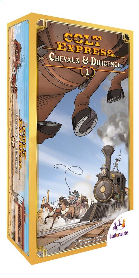 Afbeelding van Colt Express uitbreiding: Paarden en Postkoets from DreamLand