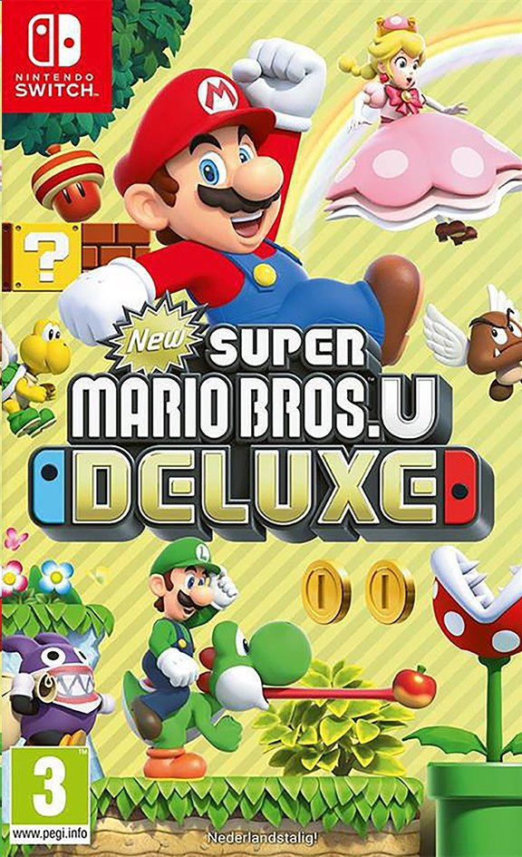 Afbeelding van Nintendo Switch New Super Mario Bros.U Deluxe NL from DreamLand