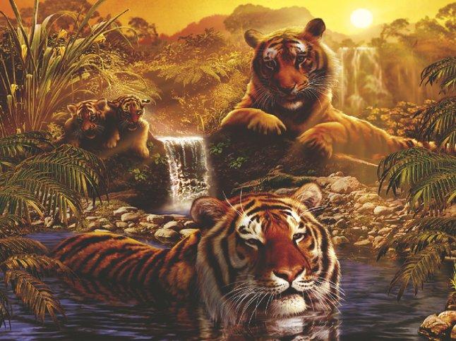 Afbeelding van Ravensburger puzzel Aan het water from DreamLand