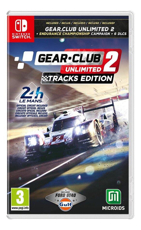 Nintendo Switch Gear Club Unlimited 2 Tracks Edition ENG/FR