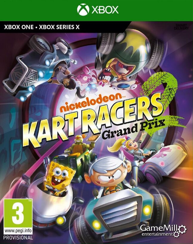 Xbox One Nickelodeon Kart Racers 2: Grand Prix ENG/FR