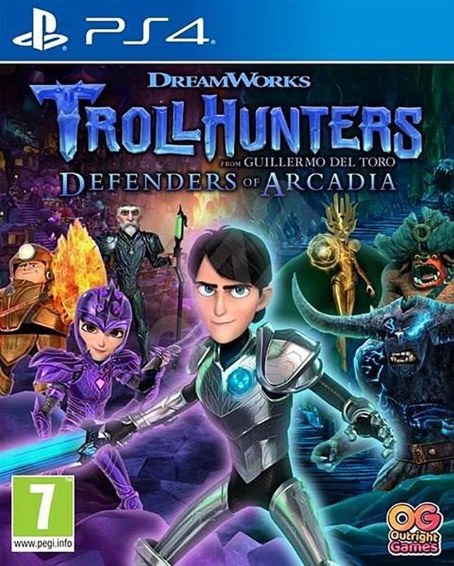 PS4 DreamWorks Trollhunters: Defenders of Arcadia ENG/FR