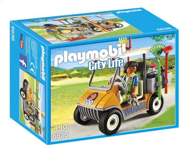 Image pour Playmobil City Life 6636 Soigneur animalier avec véhicule à partir de DreamLand