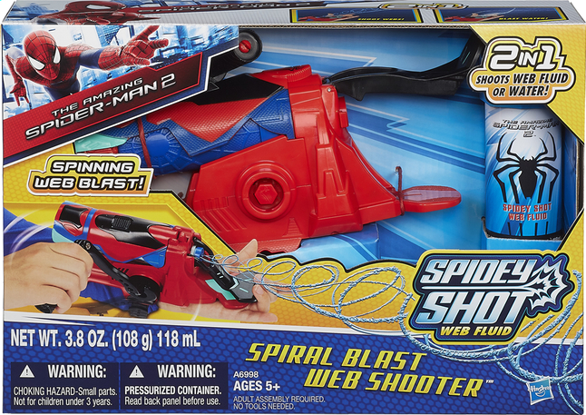 Afbeelding van Speelset The Amazing Spider-Man 2 Spiral Blast Web Shooter from DreamLand