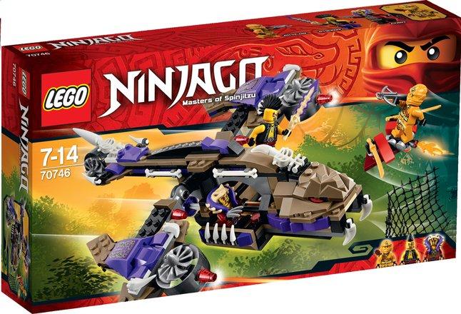 Image pour LEGO Ninjago 70746 L'hélicoptère de Condrai à partir de DreamLand