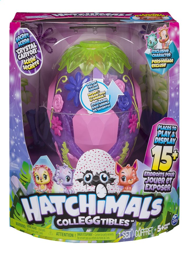 Hatchimals ColleGGtibles Crystal Canyon Secret Scene