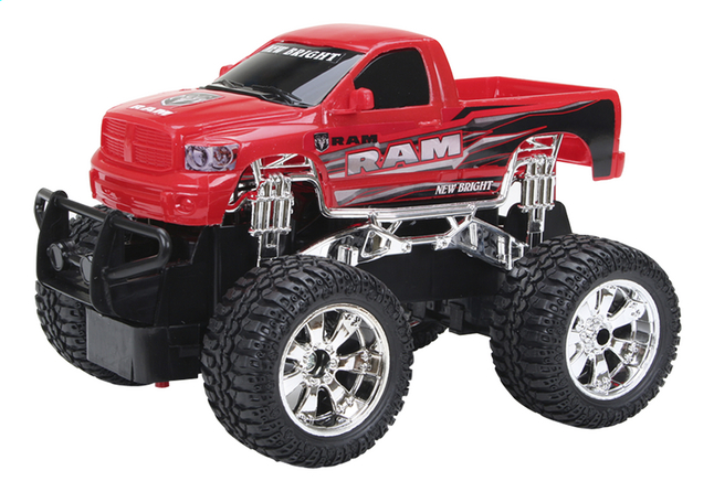 Afbeelding van New Bright auto RC RAM rood from DreamLand