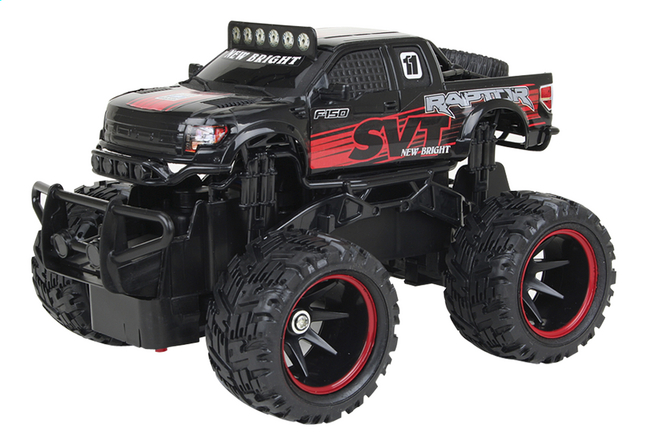 Afbeelding van New Bright auto RC Ford Raptor zwart from DreamLand