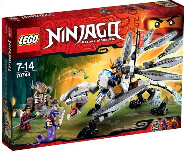Afbeelding van LEGO Ninjago 70748 Titanium draak from DreamLand