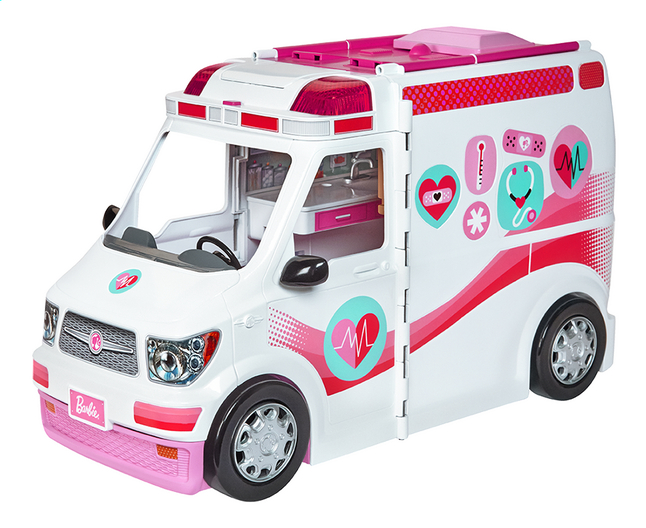 Afbeelding van Barbie speelset Ambulance from DreamLand