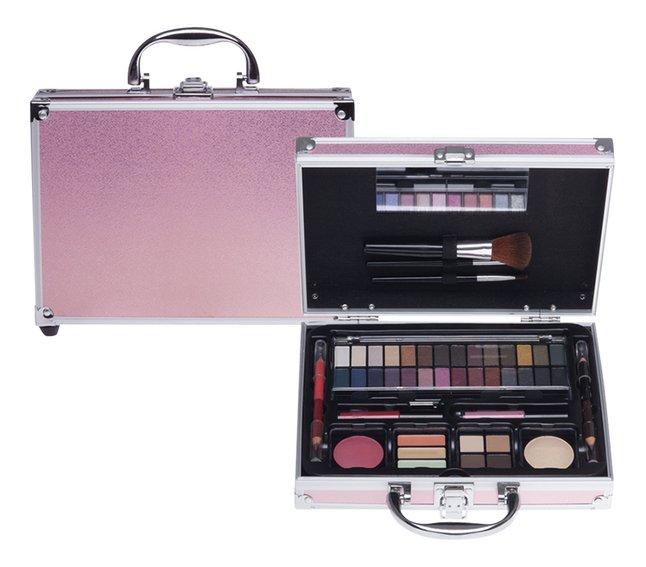 Casuelle make-upkoffer roze