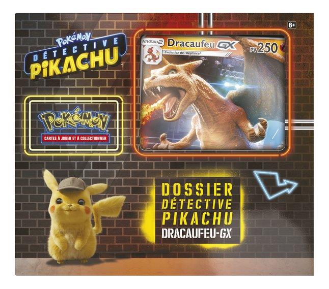 Image pour Pokémon JCC Détective Pikachu Dossier Dracaufeu-GX à partir de DreamLand