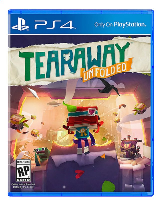 Image pour PS4 Tearaway Unfolded FR/ANG à partir de DreamLand