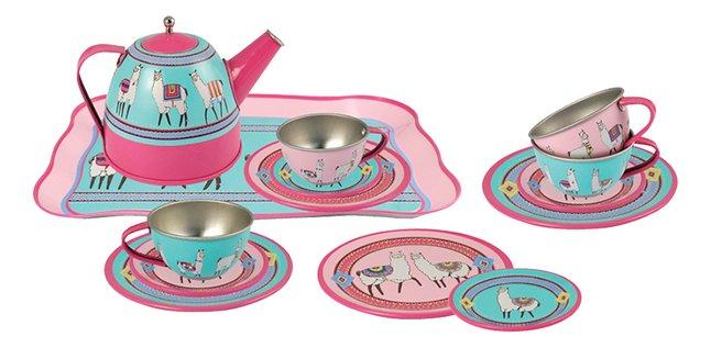 Service à thé Lama