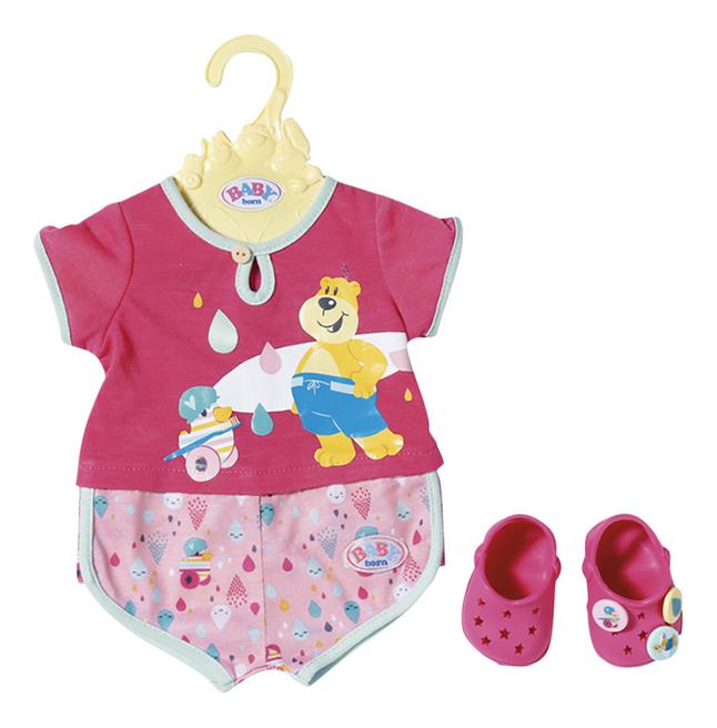 Afbeelding van BABY born kledijset Pyjama en schoenen from DreamLand