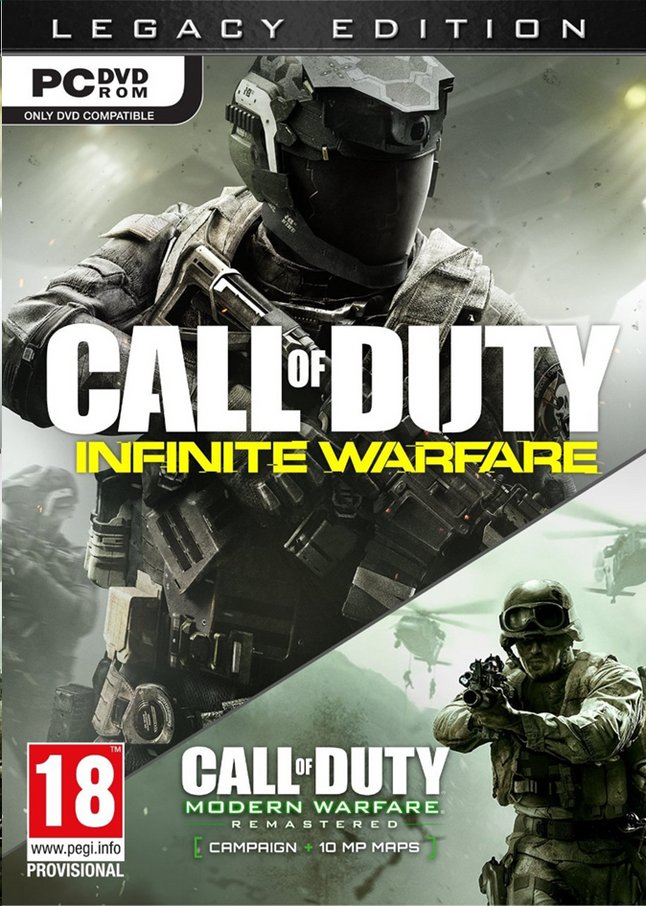 Afbeelding van Pc Call of Duty:  Infinite Warfare Legacy ENG from DreamLand
