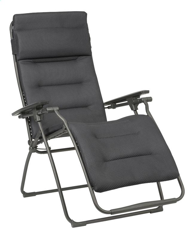 longue Comfort Dark Be Lafuma Grey chaise Futura IE29HWD