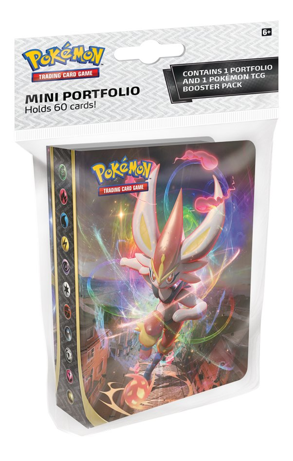 Pokémon mini album de collection Trading Cards Sword & Shield 2 Rebel Clash