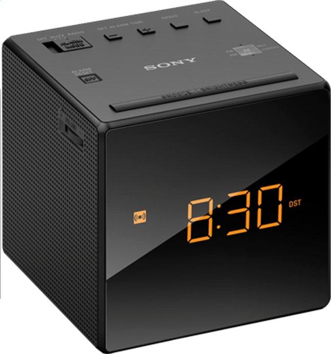Sony radio-réveil ICF-C1 noir