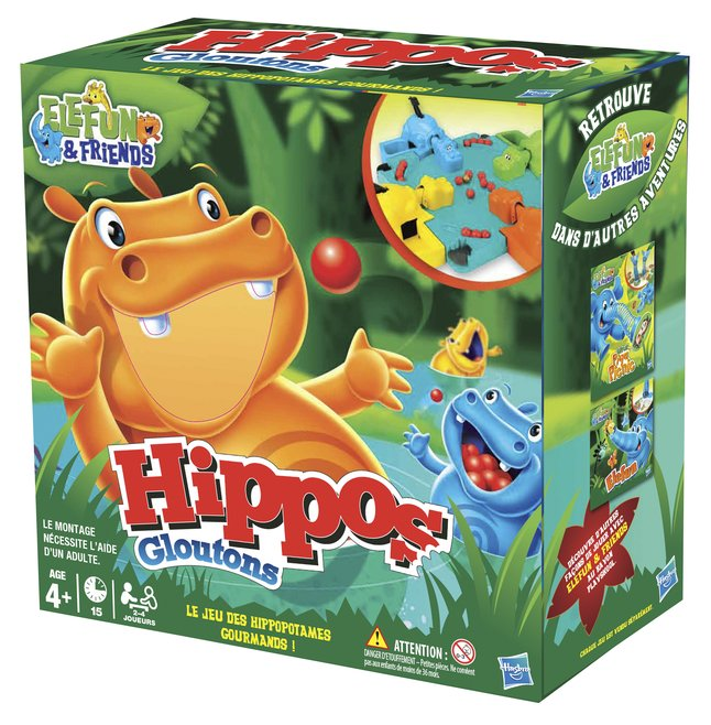 Afbeelding van Hippos Gloutons FR from DreamLand