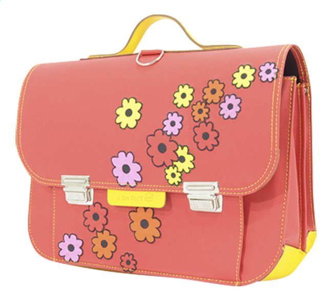 Image pour # Own Stuff cartable Flowers Red 38 cm à partir de DreamLand