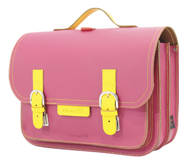 Image pour # Own Stuff cartable Yellow/Fuchsia 38 cm à partir de DreamLand