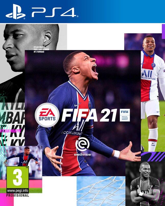 PS4 FIFA 21 NL/FR